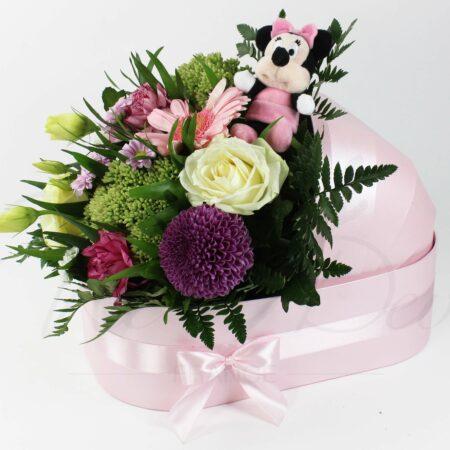 Boîte-berceau pour fleurs